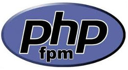 Powered by php-fpm